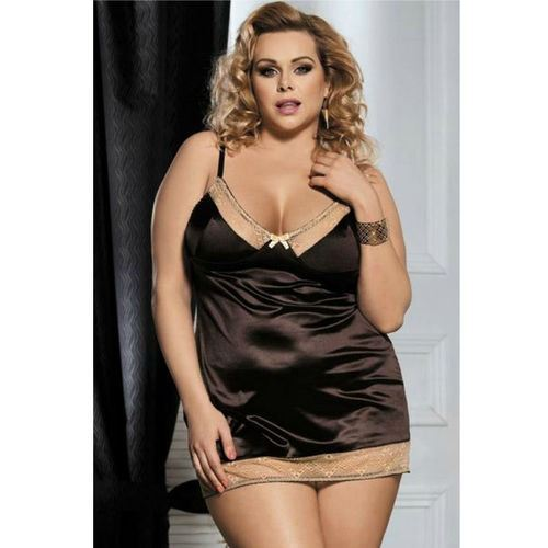 BABYDOLL BROWN 5XL